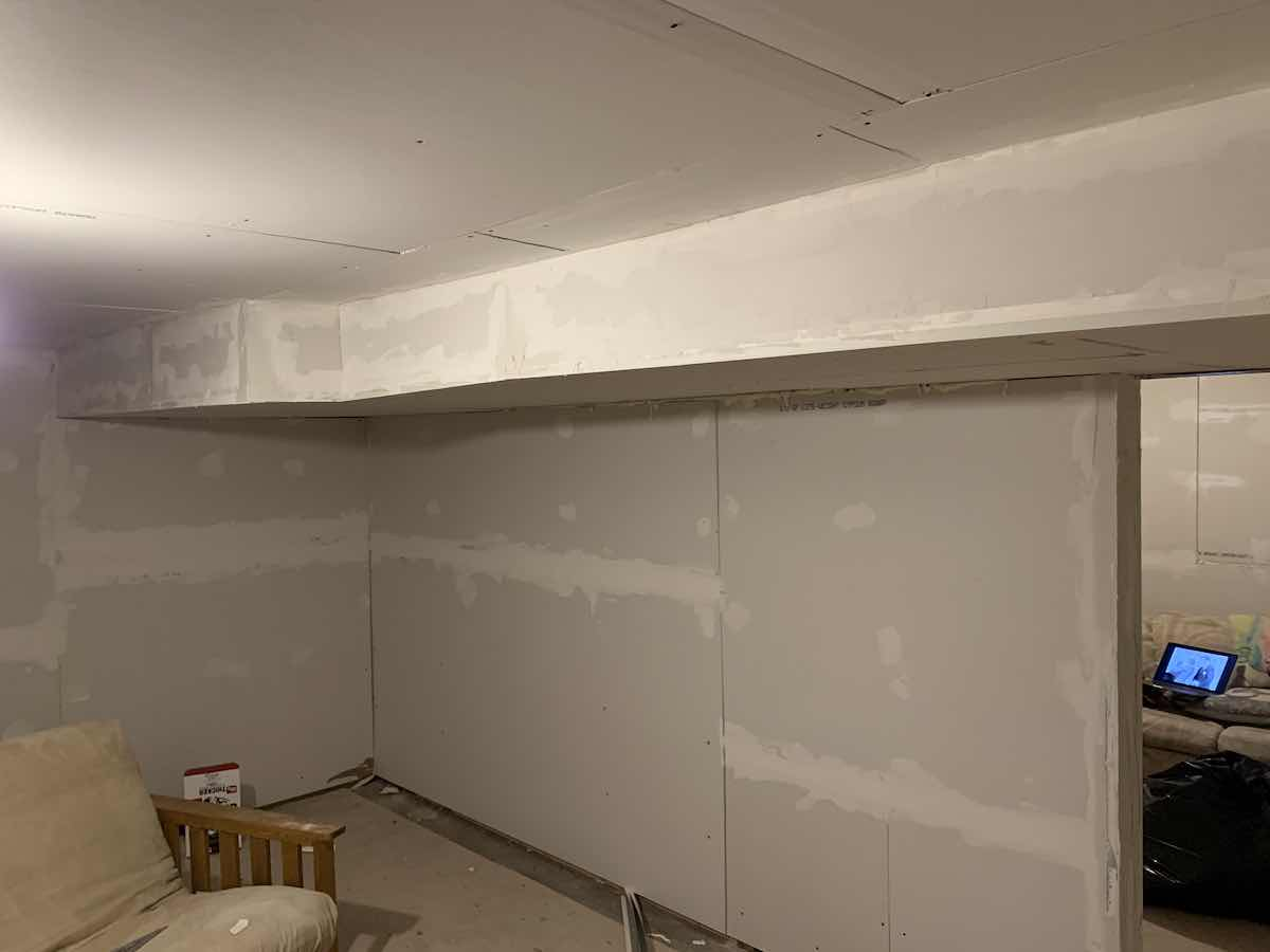 Drywall day 1